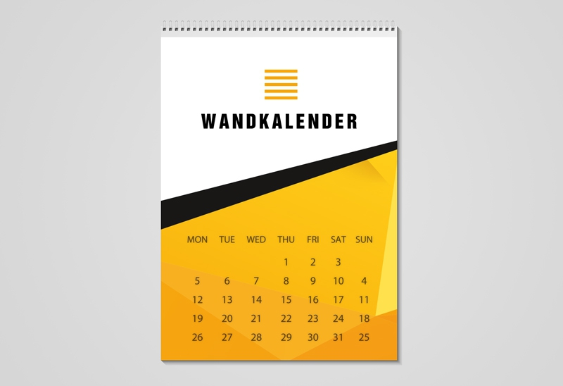 Wandkalender digital